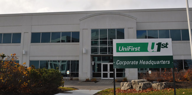 UniFirst Corporate Headquarters Exterior
