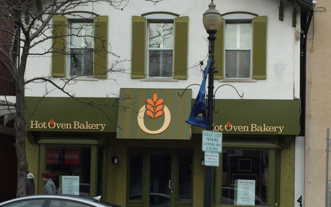 Hot Oven Bakery Construction Storefront