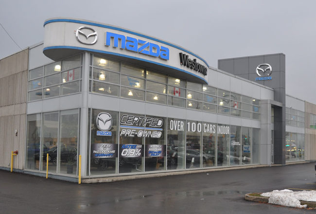 Westowne Mazda Dealership Exterior